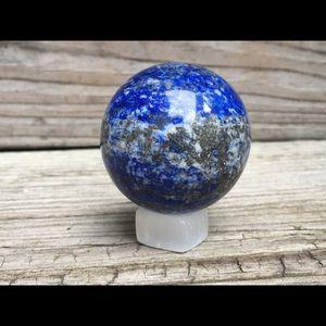 193g 49cm Lapis Lazuli Sphere